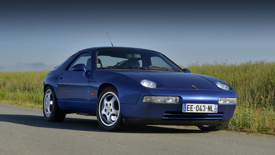 Porsche panamera,Porsche 928. Если замысел будет реализован, мы получим идеологического наследника модели Porsche 928 (1977–1995 гг.), оснащавшейся «восьмёрками» 4.5, 4.7, 5.0 и 5.4 (222–350 сил). На фото — последняя версия GTS с агрегатом V8 5.4 (350 л.с., 500 Н•м).