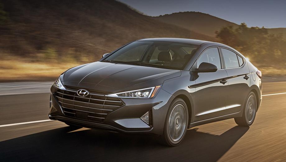 Седан Hyundai Elantra в США сменил две коробки на вариатор