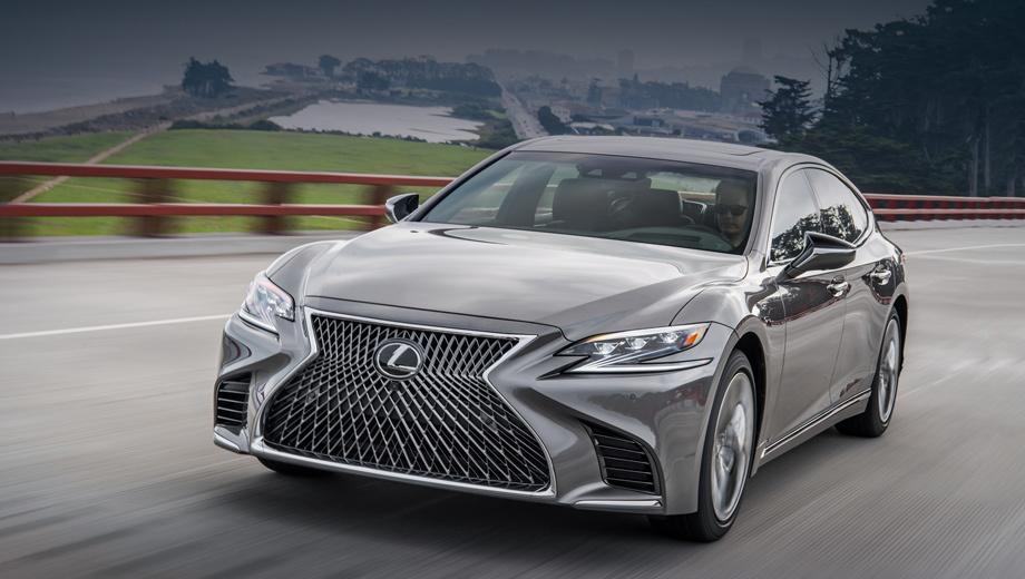 Седаны Lexus LS отозваны в России из-за трещин в шинах