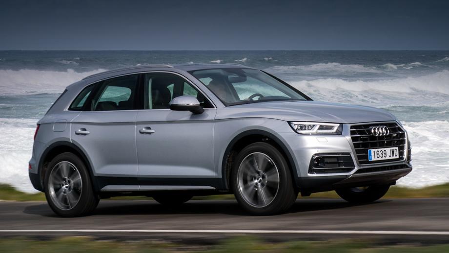 Audi q5,Audi sq5. «Ку-пятый» отзывается нередко. В прошлый раз причиной послужил насос охлаждающей жидкости. Это было в декабре  2018-го, а в июне Audi Q5 подводили тормозные суппорты.