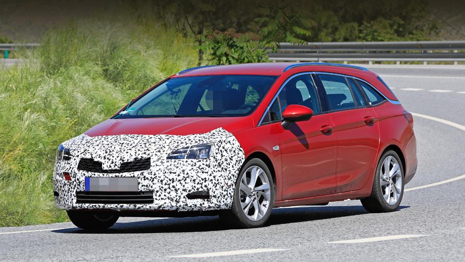 Opel astra. Традиционный набор обновок (оптика, в том числе полностью диодная, в виде опции, бампер, решётка) будет дополнен изменениями в подкапотном пространстве.