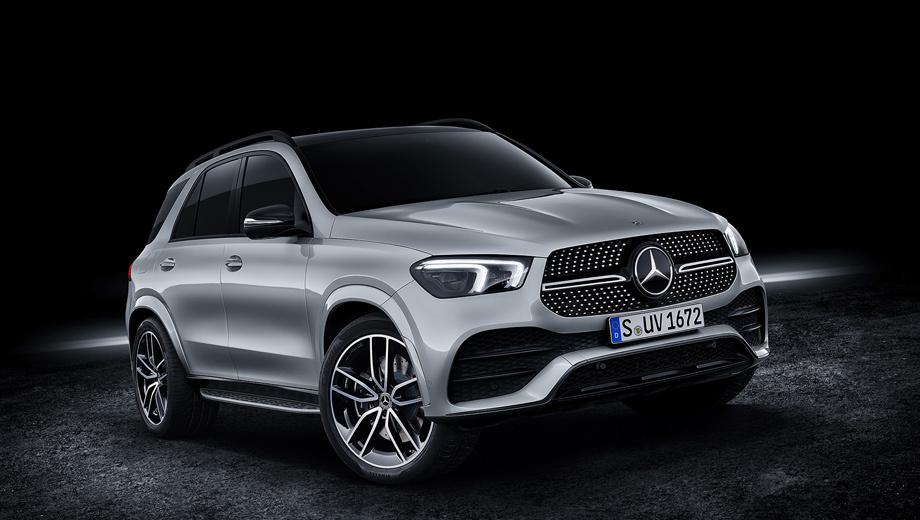 Версия Mercedes-Benz GLE 580 временно стала самой мощной