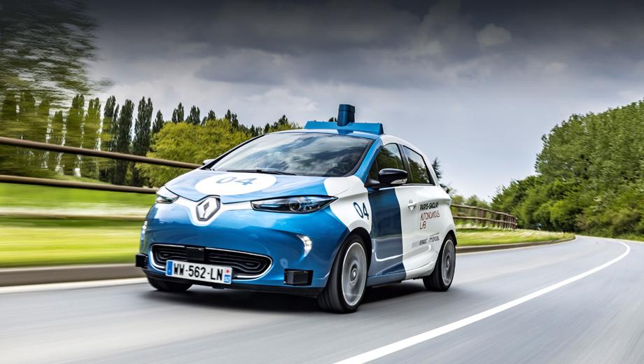Renault zoe,Renault zoe cab. Помимо Renault в эксперименте участвуют Университет Париж-Сакле, компании Vedecom, Transdev Group, IRT SystemX.