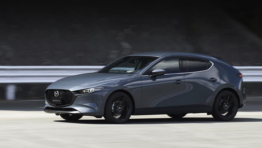 Mazda 3. Теперь уже точно ясно, что полный привод i-Activ AWD, инновационный мотор Skyactiv-X и умеренная гибридная система M Hybrid нам не светят. А вот комплекс безопасности i-Activsense с контролем внимания водителя, скорее всего, появится.