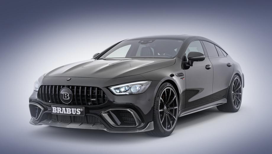 Mercedes amg gt. Новая версия Мерседеса AMG GT от Брабуса будет показана публике в рамках шоу Top Marques Monaco, открывающегося завтра, 30 мая.