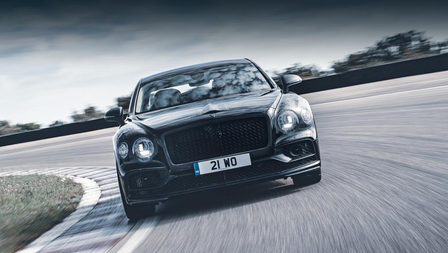 Bentley flying spur. «Спортивный и роскошный седаны встретились во Flying Spur» — рекламирует новую модель производитель. Основание для такого оптимистичного заявления есть, это платформа от Панамеры. Остаётся узнать, как здесь всё было адаптировано и настроено.