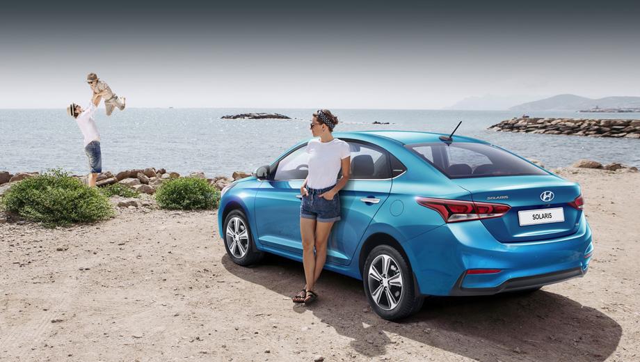 Hyundai solaris. Новая вариация седана понравится тем, кому нужны перечисленные опции, но жалко отдавать миллион за топовый Elegance.