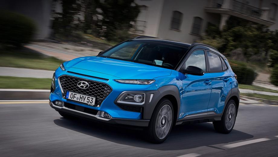Hyundai kona,Hyundai kona hybrid. Новая версия предложена пока сугубо для Европы (включая Британию). Продажи начнутся в августе нынешнего года. Цены ещё не объявлены. Информации о выходе на другие рынки пока нет.