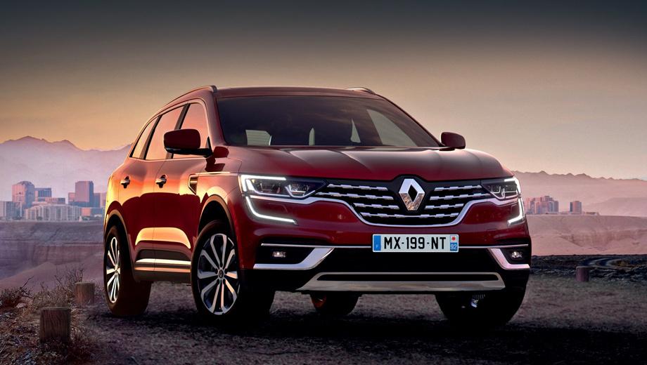 Renault Koleos 2019: фото цена и комплектации кроссовер в новом кузове от Рено