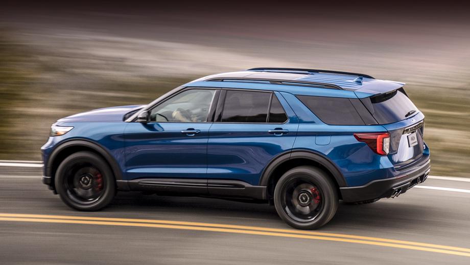 Ford explorer,Ford explorer st. Покупатели, заказывающие с завода высокопроизводительные шины на Эксплорер, вряд ли обратят особое внимание на буквы MO, нанесённые на боковины. Между тем это сокращение от Mercedes Original, что звучит странно в контексте Форда.