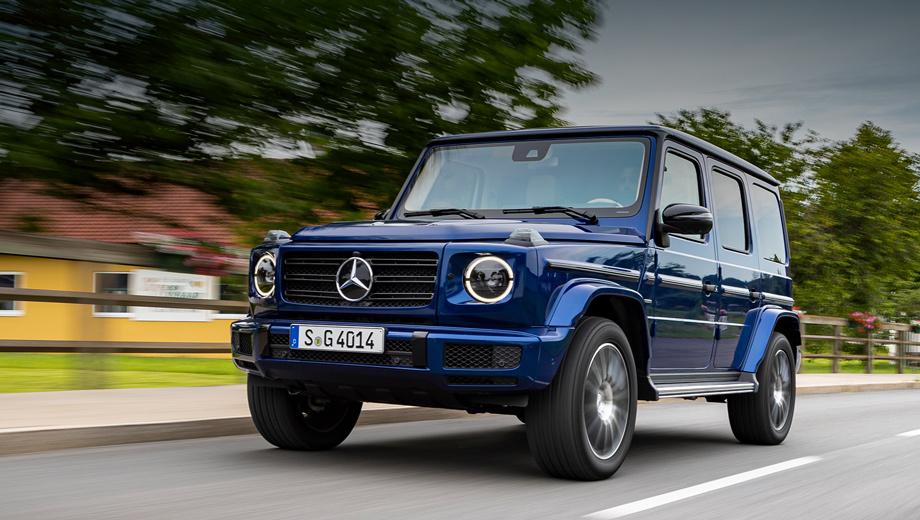 Mercedes g. Штутгартцы явно сомневались в целесообразности G 400 d на фоне ужесточающихся эконорм, ведь выбросы CO2 у этого варианта составляют 253 г/км. Но потом было решено систематически подтягивать G-класс к меняющимся стандартам. Средний расход топлива — 9,6 л/100 км.