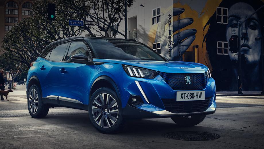 Новый Peugeot 2008 выйдет на российский рынок в 2020 году