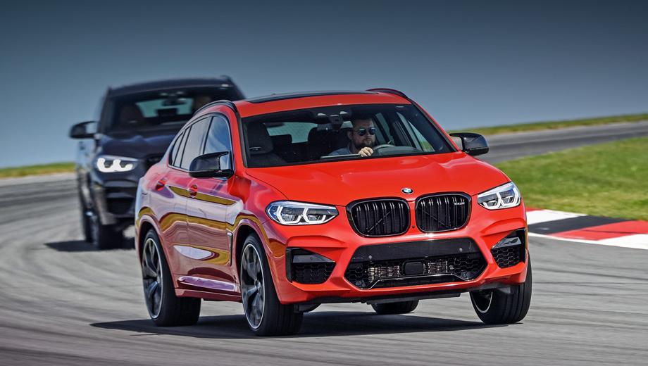 Bmw x3 m,Bmw x4 m. Основной для России будет версия Competition (510 л.с.), в которой BMW X3 M оценён минимум в 7,68 млн рублей (X4 M дороже на 160 тысяч). Поставки планируются к осени. Обычные 480-сильные «эмки» выпустят на рынок ограниченной партией по 6,69 и 6,82 млн соответственно.