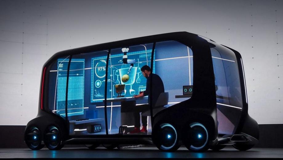 Toyota e-palette. Пока всех участников альянса объединяет одна машина — автономный концепт Toyota e-Palette. Его серийная версия будет в 2020 году обслуживать Олимпийские игры в Токио.