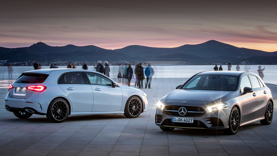 Mercedes a. Новая модификация «ашки» ринется в бой против компактных премиальных бензоэлектрических моделей с зарядкой от розетки вроде BMW 225e Active Tourer, чья батарея на 8,8 кВт•ч обеспечивает чисто электрический запас хода до 57 км.