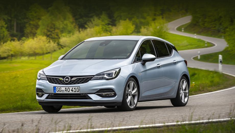 Opel astra. Замена моторов обусловлена переходом Опеля из империи General Motors в группу PSA, случившимся в 2017-м.