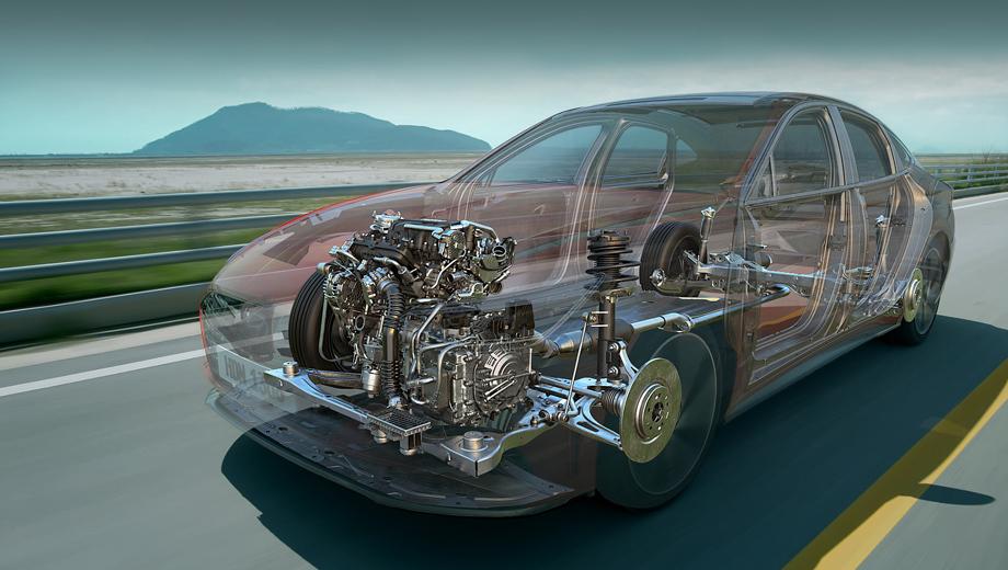 Hyundai sonata. Первой новую технологию примерит Sonata последнего поколения: во второй половине года начнётся выпуск её модификации 1.6 Turbo. В этом моторе и появится экзотический механизм под аббревиатурой CVVD.