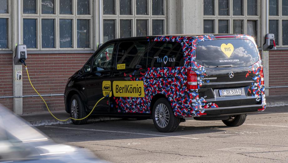 Mercedes-Benz презентовал новинку, электрифицированный минивэн