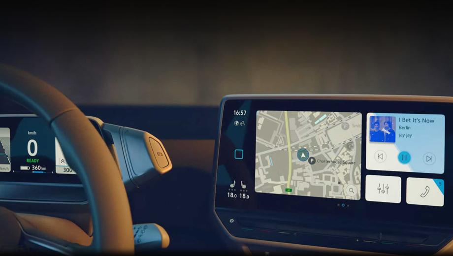 Интерьер хэтчбека Volkswagen ID.3 случайно попал в Сеть