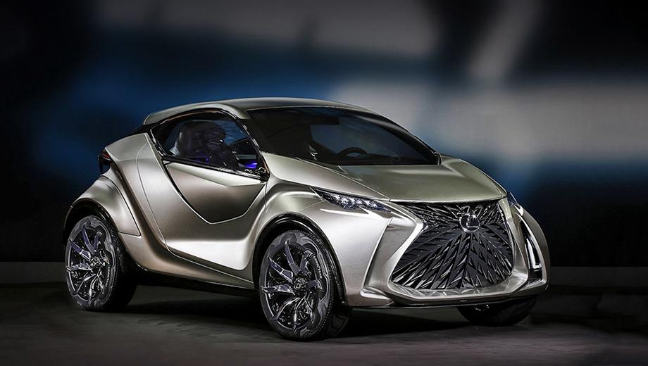 Lexus ct. Концептуальная трёхдверка LF-SA, заявленная в 2015 году на Женевской выставке, должна была в серии встать ступенькой ниже хэтча Lexus CT 200h. Судьба распорядилась иначе, зато вышел Lexus UX. Теперь LF-SA подходит под описание нового шоу-кара.