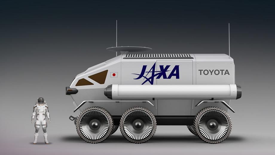 Toyota jaxa pressurized rover. Чтобы ровер смог проехать по лунной поверхности более 10 000 км, JAXA хочет собрать в единый кулак технологические возможности всей страны. Так что луноходом занимается не отдельная организация, а Team Japan, Команда Японии.