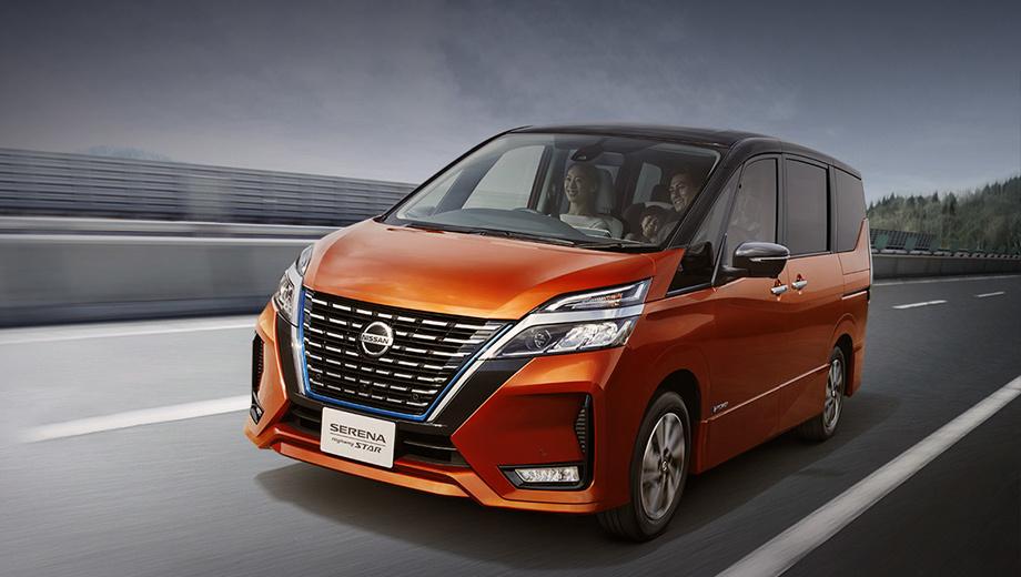 Nissan serena. В перечне самых популярных автомобилей Японии 2018 года Serena заняла четвёртое место с результатом в 99 865 проданных машин (+18,3%). Цены начинаются с 2 440 800 иен (1,42 млн рублей).