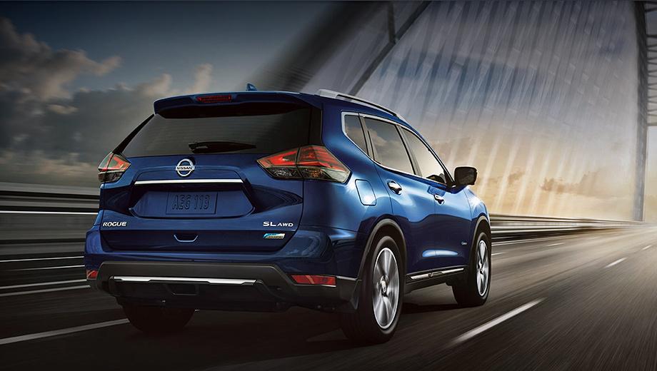 Nissan rogue,Nissan rogue hybrid. Rogue и X-Trail — одно и то же. В Америке это бестселлер: за 2018 год реализовано 412 110 экземпляров (+8645). Гибрид пополнил гамму в 2016-м. Его результаты продаж неизвестны.