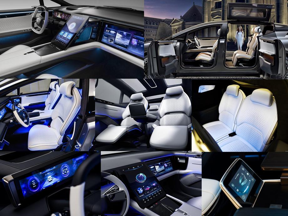 Дополнено: Серийный HiPhi X удивит Пекин инновациями