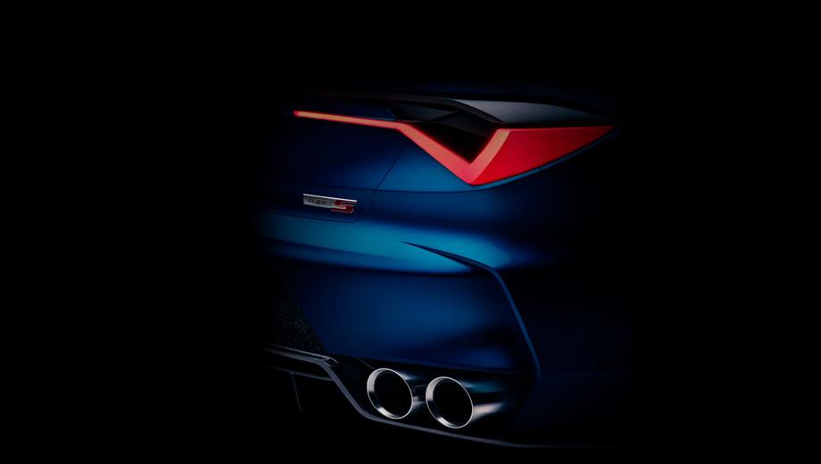 Acura type s,Acura concept. Четыре модификации Type-S (ранее в названии был дефис) выпускались в период 2001–2008 годов. Последним носителем этого шильдика была четырёхдверка Acura TL, которую впоследствии заменил седан TLX. Его мы и видим на тёмной картинке, а также в восьмисекундном видеотизере.