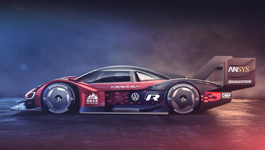 Volkswagen id r. Отделение Volkswagen Motorsport в своём релизе делает упор на новую ливрею автомобиля, разработанную специально для ID.R China Challenge. Однако сравнение эскизов со снимками прошлых реинкарнаций машины показывает, что аэродинамика тоже поменялась.