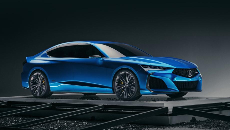 Концепт Acura Type S предсказал облик следующего седана TLX
