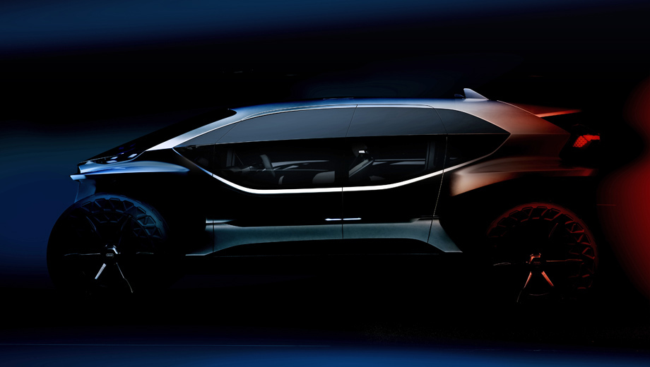 Audi concept,Audi ai-trail,Audi rs q8. Крупные боковые стёкла, разделённые горизонтальной планкой, как у AI:ME, странно выглядят на машине, рассчитанной на бездорожье. Но предельно короткие свесы однозначно указывают на амплуа этого концепта.