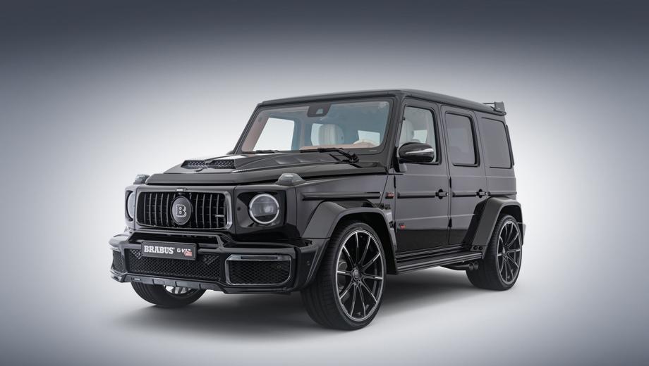 Mercedes g. Авторы проекта называют эту машину самым мощным двенадцатицилиндровым SUV (внедорожником) в мире. Вообще, нам попадались примеры и более радикального тюнинга, но на базе форсированных агрегатов V8.