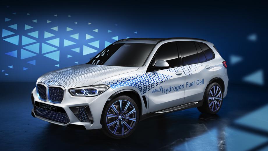 Bmw concept,Bmw i hydrogen next. Синие акценты в виде армии треугольников, по замыслу разработчиков, указывают на принадлежность концепта к семейству BMW i, которое в рамках бренда считается инновационным.