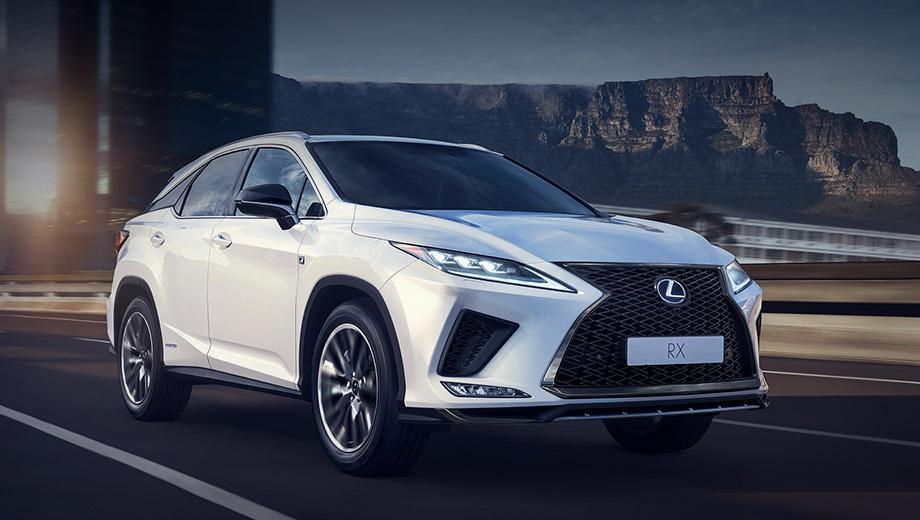 Lexus rx,Lexus rx l. Новые узкие фары на светодиодах потребовали изменить решётку и бампер. Противотуманки отныне сидят «на подбородке» и наверняка станут отличительным признаком этого обновления.