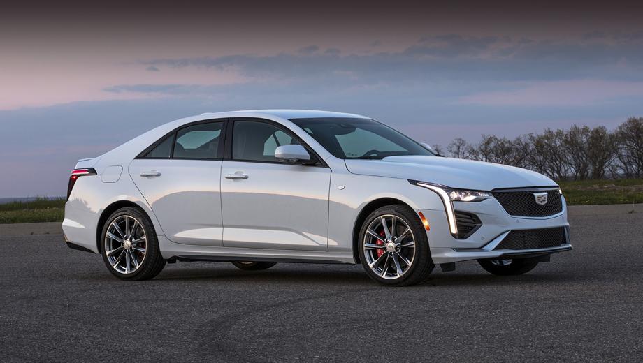 Cедан Cadillac CT4 предложил выбор из двух моторов