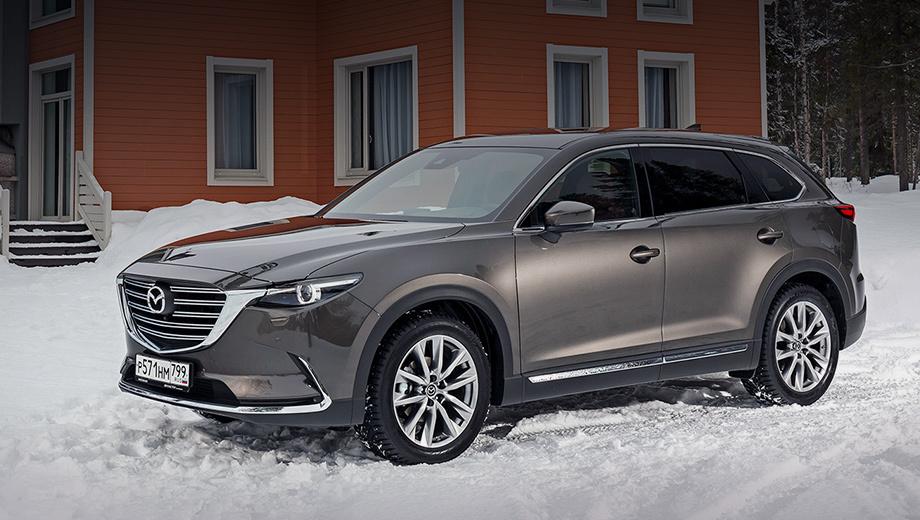 Mazda cx-9. «Вторая» Mazda CX-9 предлагается в России с осени 2017 года, и это первый отзыв данного поколения. Заметим, что с февраля 2018-го паркетник собирается во Владивостоке. Цены от 2 795 000 рублей.