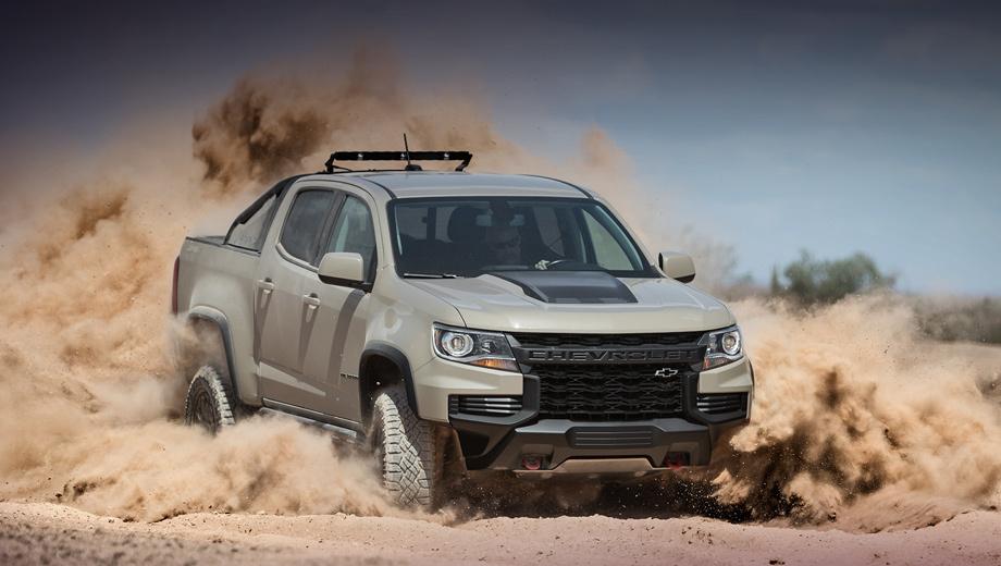 Chevrolet colorado,Chevrolet colorado zr2. Публичная премьера грузовичка пройдёт 10–13 октября на ежегодном мероприятии Method Race Wheels Laughlin Desert Classic в штате Невада. Пилотировать ZR2 будет команда Hall Racing.