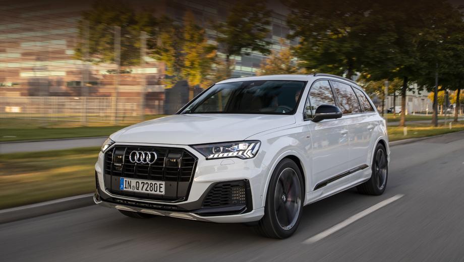Audi q7. Подробности о модели Audi Q7 60 TFSI e немцы должны раскрыть до конца года. Из крупных выставок за этот период неплохой площадкой для премьеры на публике представляется автосалон в Лос-Анджелесе, открывающийся 22 ноября.