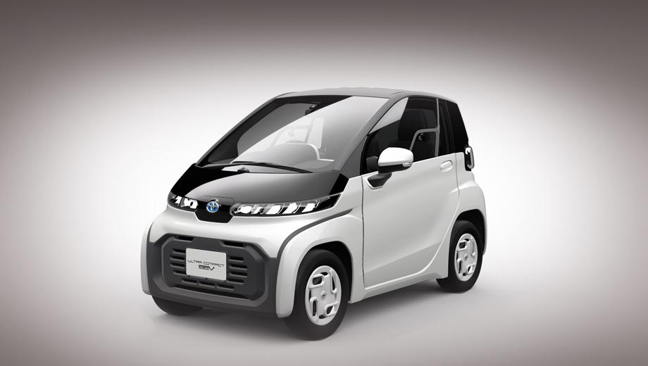 Toyota ultracompact bev,Toyota concept. Этот малыш уже мелькал на снимках грядущих новинок, когда Toyota рассказывала о массированном наступлении на электрическом фронте. Но в тот раз никаких подробностей производитель не раскрывал.