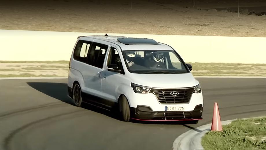 Hyundai h-1. Эксперимент австралийцев был вдохновлён первоапрельской шуткой отделения Hyundai Germany, придумавшего «заряженный бус» iMax N. На Зелёном континенте посчитали, что идею вполне возможно воплотить в металле.