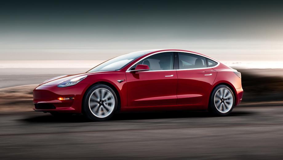 Tesla model 3,Tesla roadster,Tesla pickup,Tesla model s. Полноприводная Model 3 Performance набирает 60 миль/ч (97 км/ч) с места за 3,2 с, на одной зарядке проходит 499 км по американскому стандарту EPA, развивает максималку в 260 км/ч. Стоит в США $56 990 без учёта субсидии (в России 6,33 млн рублей).