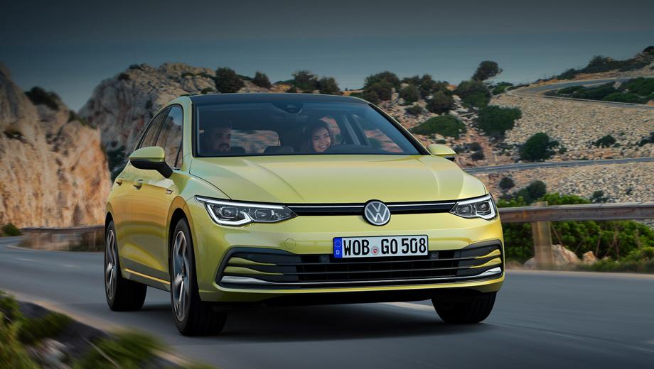 Volkswagen golf. Преемственность стиля можно оценивать по-разному. В любом случае, перед нами новая машина, более безопасная и лучше оснащённая. Кстати, светодиодная оптика стала стандартной на всех версиях, а в старших появляются матричные фары IQ.Light LED Matrix.