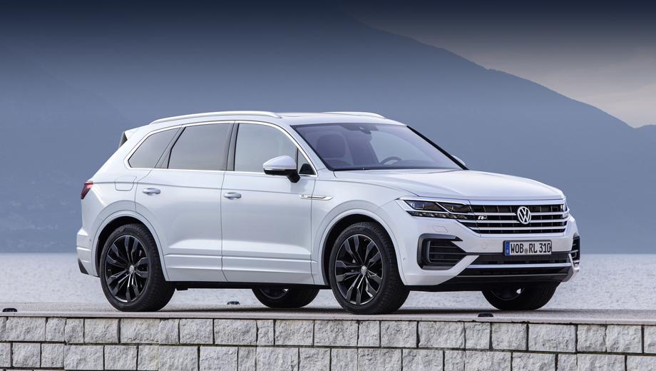 Volkswagen touareg,Volkswagen touareg r. В плане прогноза внешности грядущего Туарега R пока можно ориентироваться на автомобиль в пакете R-Line. А вот начинка ещё может преподнести сюрпризы. Автомобиль будет показан в 2020-м с запуском на рынок к концу года или в 2021-м.