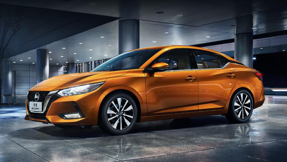 Nissan sylphy,Nissan sentra. Заокеанская модель Sentra должна стать американской интерпретацией «четвёртого» Ниссана Sylphy (на фото), который весной нынешнего года был представлен в версии для рынка Китая.