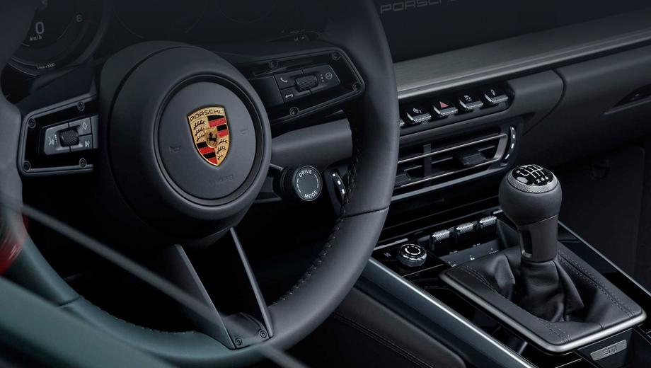 Porsche 911. Американцы уже могут заказывать 911-е с «механикой», а первые машины поступят к дилерам весной 2020 года. Информации о возможном появлении таких модификаций в России пока нет.