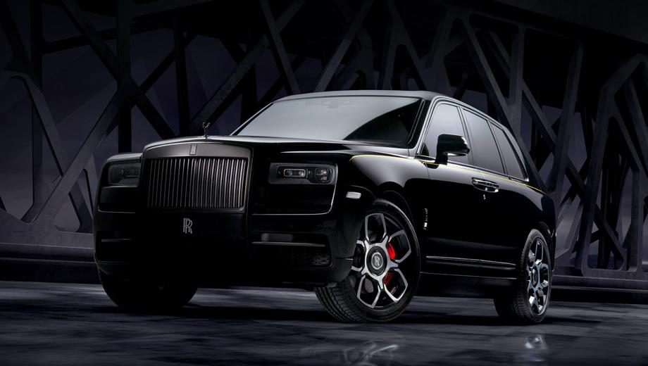 Rollsroyce cullinan. В описании Cullinan Black Badge характеризуется как «самый смелый и самый тёмный Rolls-Royce», «Король ночи». Лакокрасочное покрытие вручную нанесено и отполировано в десять приёмов. Статуэтка Spirit of Ecstasy представлена в глянцево-чёрном хроме. Значок RR стал серебристо-чёрным.