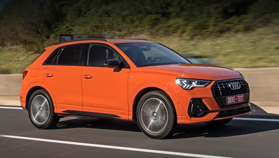 Audi q3. Цены начинаются с 2,25 млн рублей за переднеприводный Q3 35 TFSI мощностью 150 л.с., который не очень богат опциями. Полноприводная версия 40 TFSI quattro (180 л.с.) ― плюс 310 тысяч рублей.