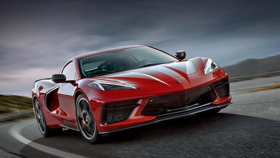 Chevrolet corvette. Уже известно, что базовый Corvette Stingray в США будет стоить от $58 900, а доставка поднимет цену до $59 995 (3,83 млн рублей). Предшественник Corvette С7 просил $55 900 (3,57 млн).