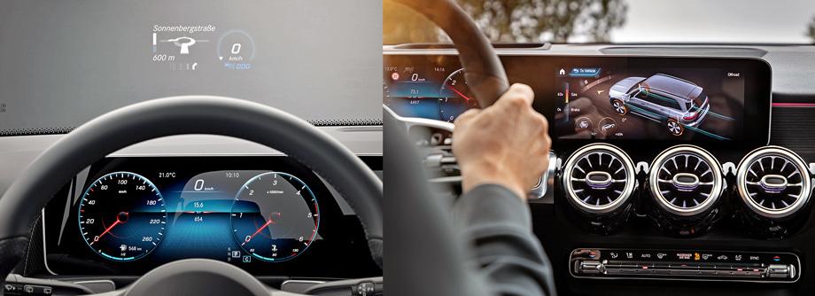 Ощущаем дух Гелика вкроссовере Mercedes-Benz GLB